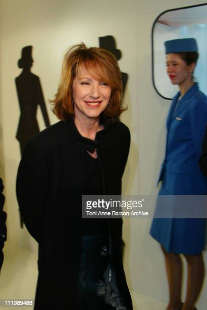 Nathalie Baye during 'Catch Me If You Can' Premiere Paris at UGC Normandy Champs Elysees in Paris France