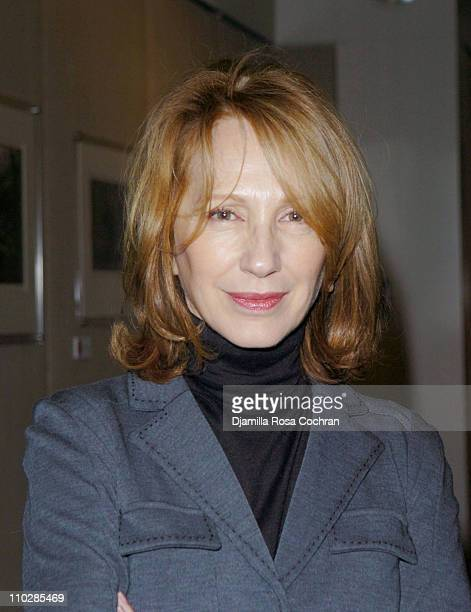 Nathalie Baye during RendezVous with French Cinema 2006 Presents 'Le Petit Lieutenant' Screening with Nathalie Baye at Walter Reade Theatre at...