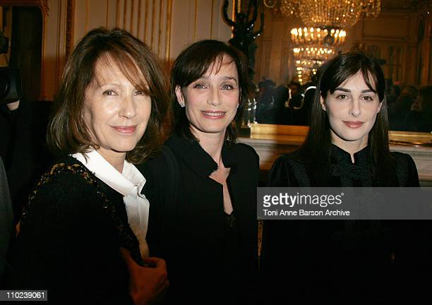 Nathalie Baye Kristin Scott Thomas and Amira Casar
