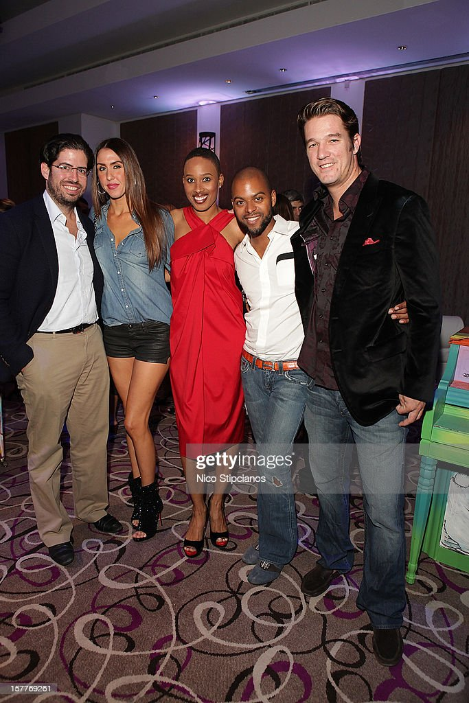 Nathalie Cadet-James attends at The Perry on December 5, 2012 in Miami Beach, Florida.