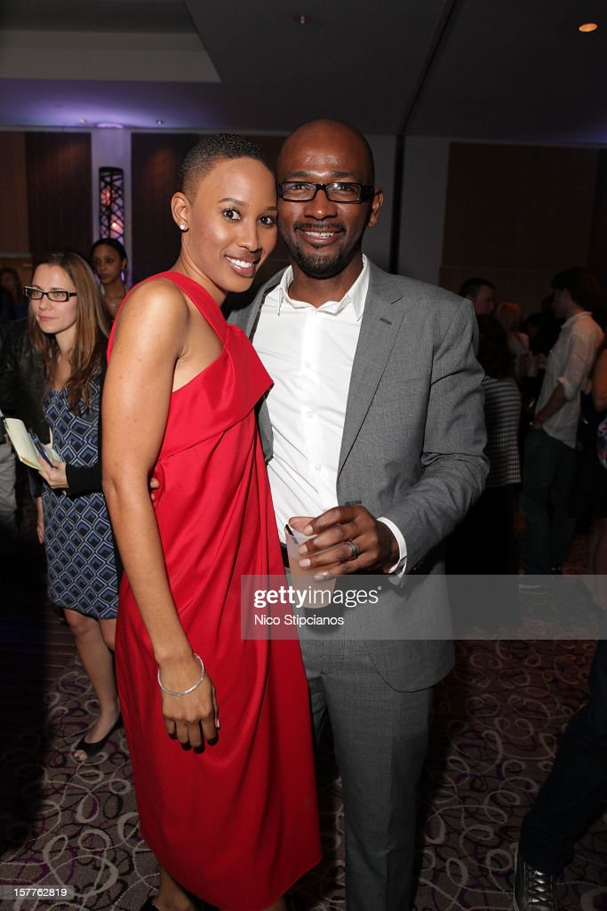Nathalie Cadet-James (L) attends The Perry on December 5, 2012 in Miami Beach, Florida.