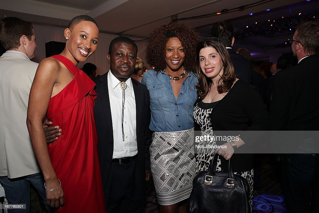 Nathalie Cadet-James, Maestro Armand Diangienda attends The Perry on December 5, 2012 in Miami Beach, Florida.
