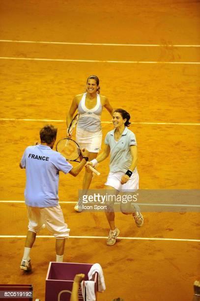 Nathalie DECHY / Amelie MAURESMO France / Slovaquie Fed Cup Limoges