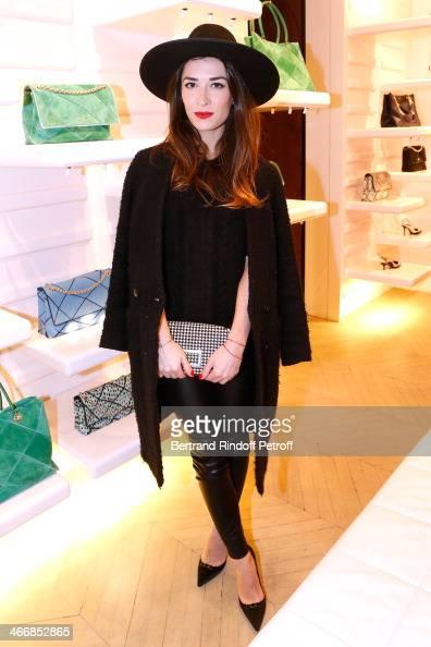 Nathalie Duchene attends the 'Le Paris du Tout Paris' Book written by Alexandra Senes Presentation at Maison Roger Vivier on February 4 2014 in Paris...