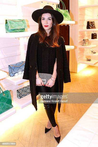 Nathalie Duchene attends the 'Le Paris du Tout Paris' Book written by Alexandra Senes Presentation at Maison Roger Vivier on February 4 2014 in Paris...