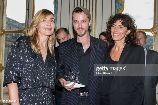 Nathalie Dufour 'Grand Prix' Glenn Martens for Y/Project and General Director of 'Yves Saint Laurent' Francesca Bellettini attend the 'ANDAM 2017'...