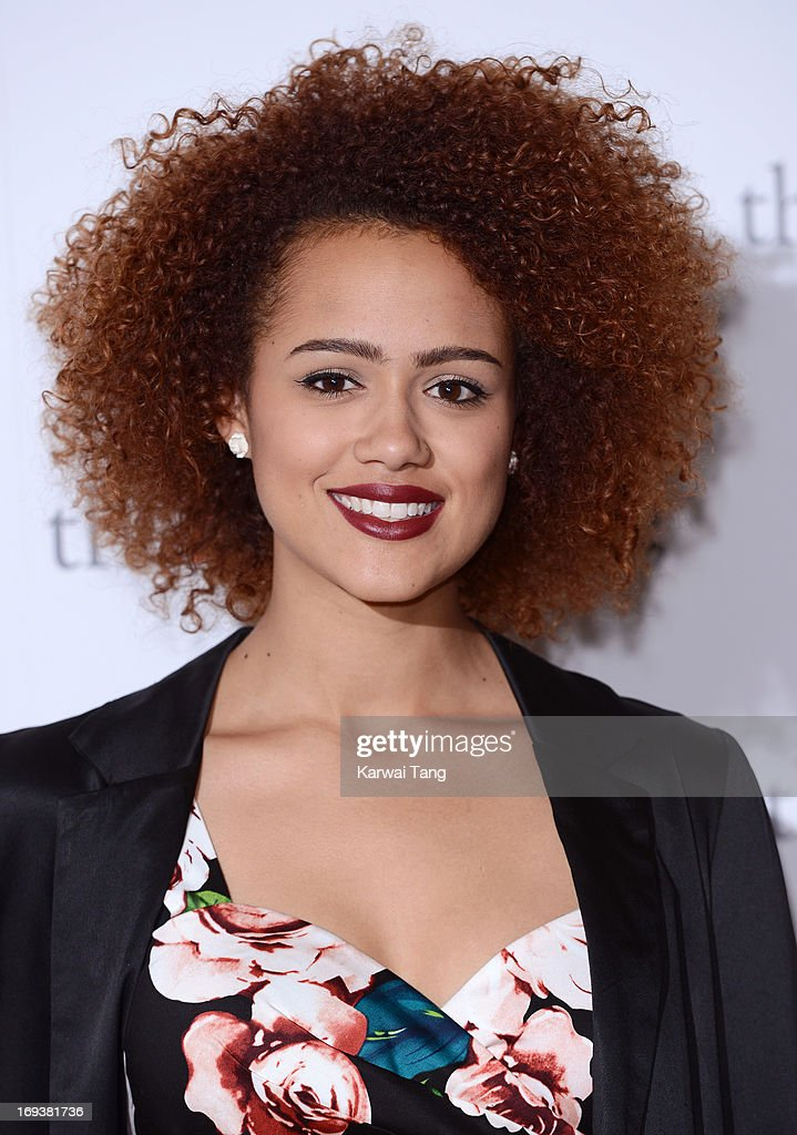 Nathalie Emmanuel attends a special screening of 'The Big Wedding' at May Fair Hotel on May 23, 2013 in London, England.