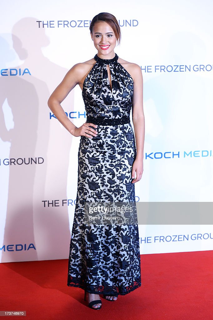Nathalie Emmanuel attends the European Premiere of 'The Frozen Ground' at the Vue West End Leicester Square on July 17, 2013 in London, England.