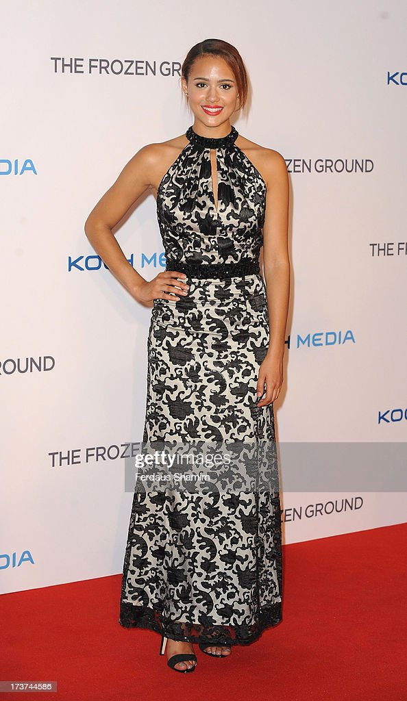 Nathalie Emmanuel attends the UK Premiere of 'The Frozen Ground' at Vue West End on July 17, 2013 in London, England.