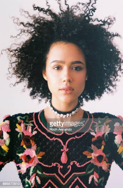 Nathalie Emmanuel is photographed for Schon Magazine on February 15 2017 in Los Angeles California