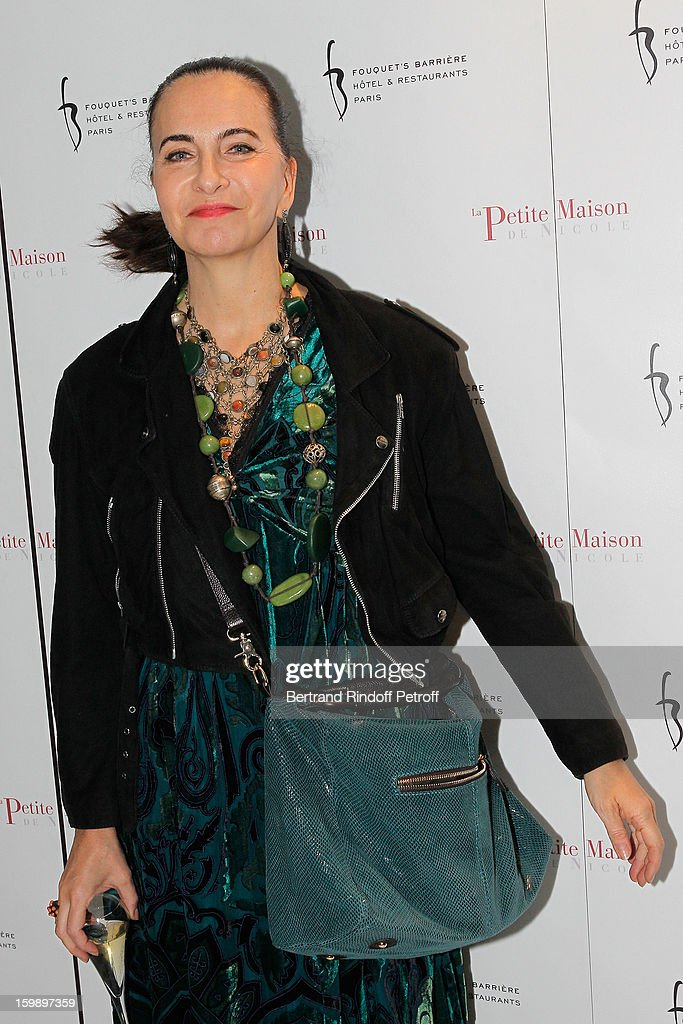 Nathalie Garcon attend 'La Petite Maison De Nicole' Inauguration Photocall at Hotel Fouquet's Barriere on January 22, 2013 in Paris, France.