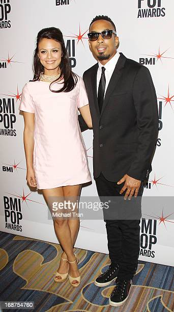 Nathalie Kelley and Dallas arrive at the 61st Annual BMI Pop Awards held at the Beverly Wilshire Four Seasons Hotel on May 14 2013 in Beverly Hills...