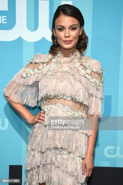 Nathalie Kelley attends the 2017 CW Upfront on May 18 2017 in New York City
