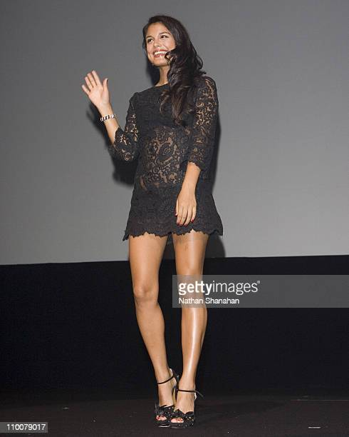 Nathalie Kelley during 'The Fast and the Furious Tokyo Drift Tokyo' Premiere Stage Greeting at Tokyo International Forum in Tokyo Japan