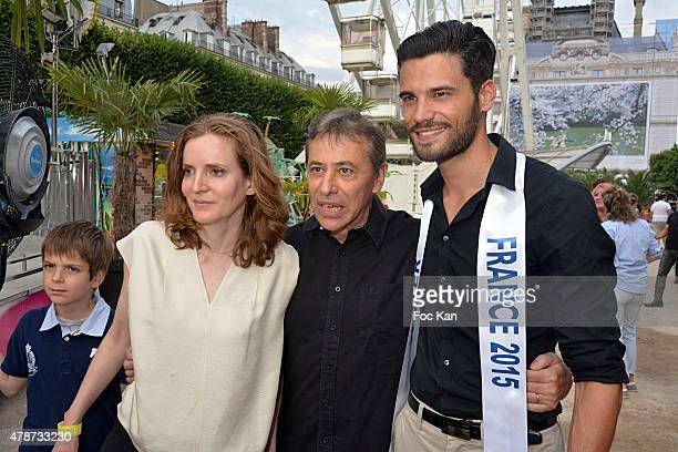 Nathalie Kosciusko Morizet a guest and Aurelien Giorgino attend 'Fete des Tuileries' Launch Party To Benefit Meghanora Association on June 26 2015 in...