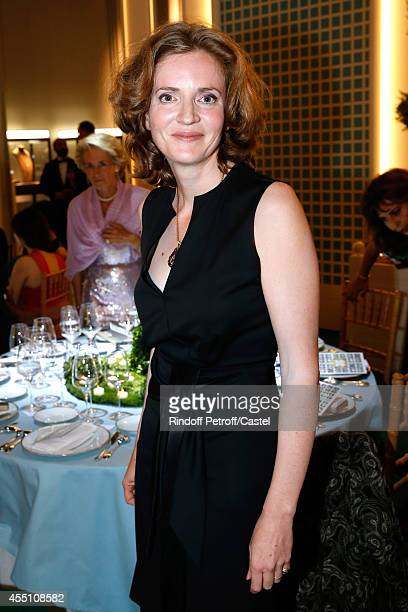 Nathalie KosciuskoMorizet attends the 27th 'Biennale des Antiquaires' Pre Opening at Le Grand Palais on September 9 2014 in Paris France