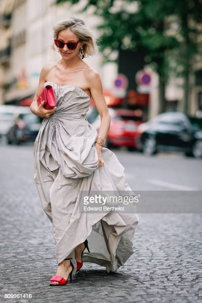 Nathalie Leroy attends the Vogue Foundation Dinner during Paris Fashion Week Haute Couture Fall/Winter 20172018 on July 4 2017 in Paris France