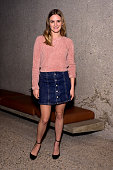 Nathalie Love attends the Alexa Chung for AG Los Angeles launch party at a private residence on January 22 2015 in Beverly Hills California