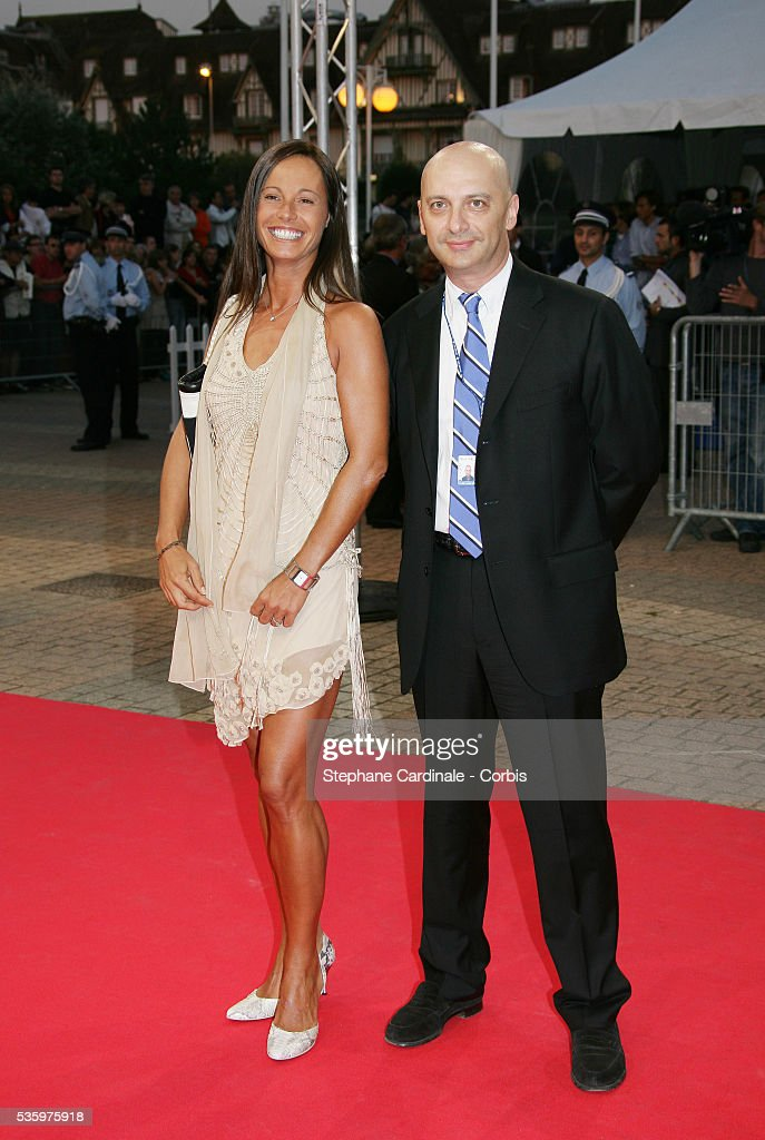 Nathalie Marquay, Xavier De Fontenay at the opening ceremony of the 31st American Deauville Film Festival.