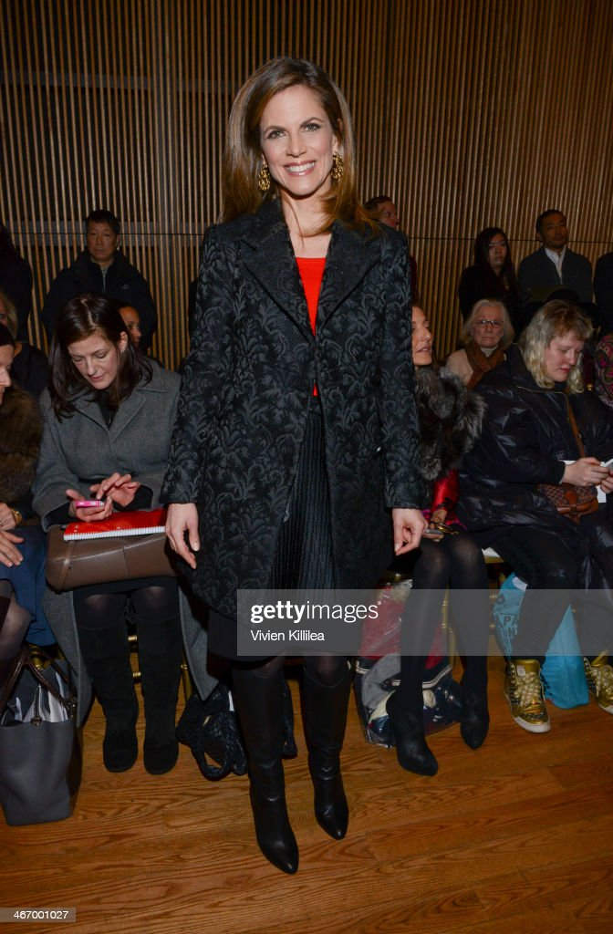 Josie natori front row mercedes benz fashion week fall for Mercedes benz music city
