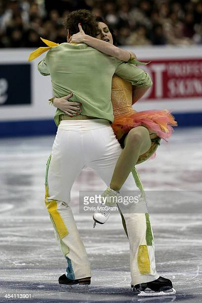 Nathalie Pechalat and Fabian Bourzat of France compete in the Ice Dance Free Dance Final on day three of the ISU Grand Prix of Figure Skating Final...