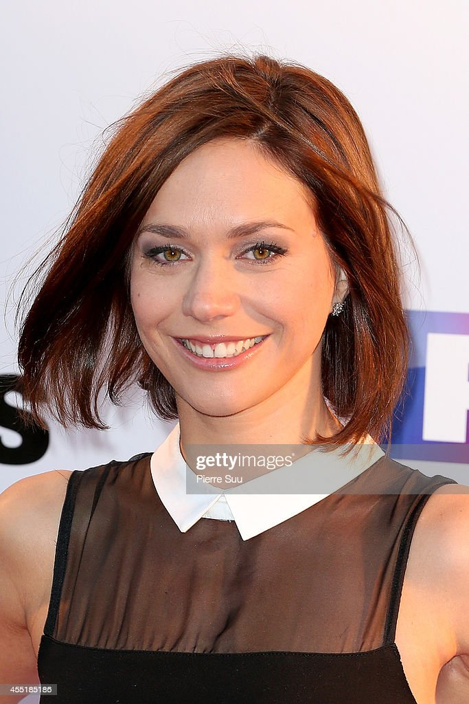Nathalie Pechalat attends the photocall of 'Danse Avec Les Stars' At TF1 on September 10 2014 in Paris France