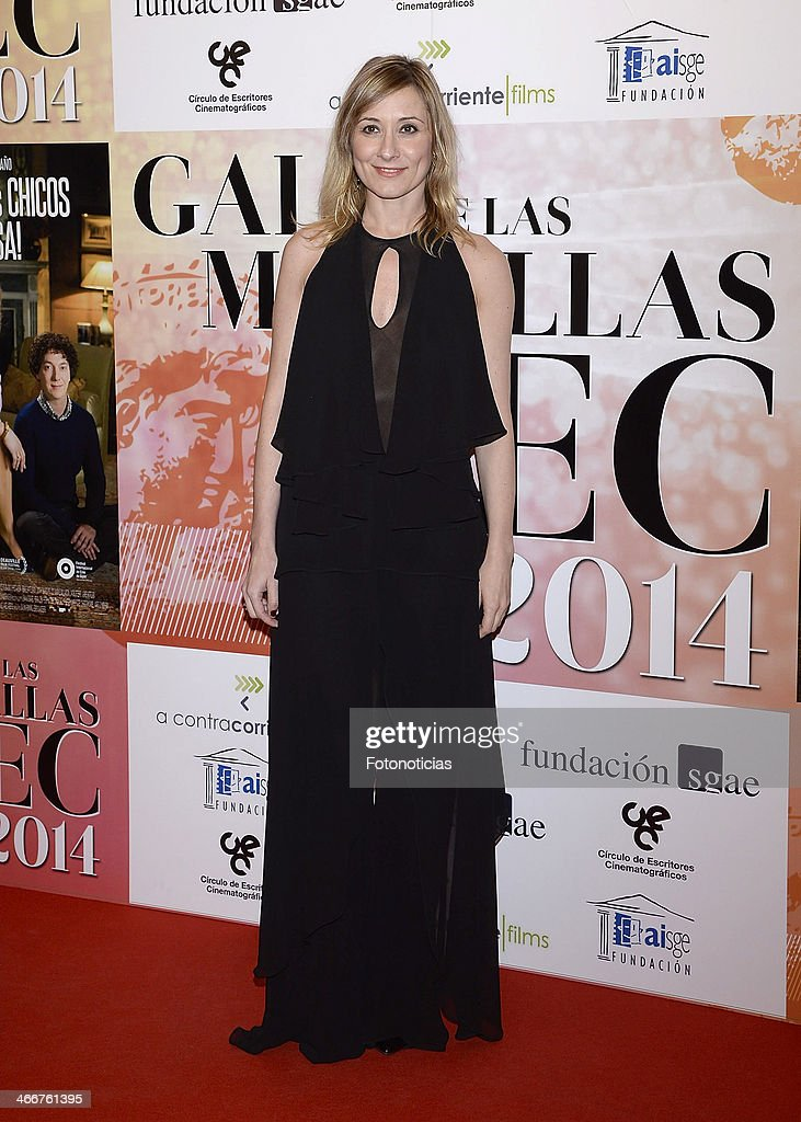 Nathalie Poza attends the 'CEC' medals 2014 ceremony at the Palafox cinema on February 3, 2014 in Madrid, Spain.