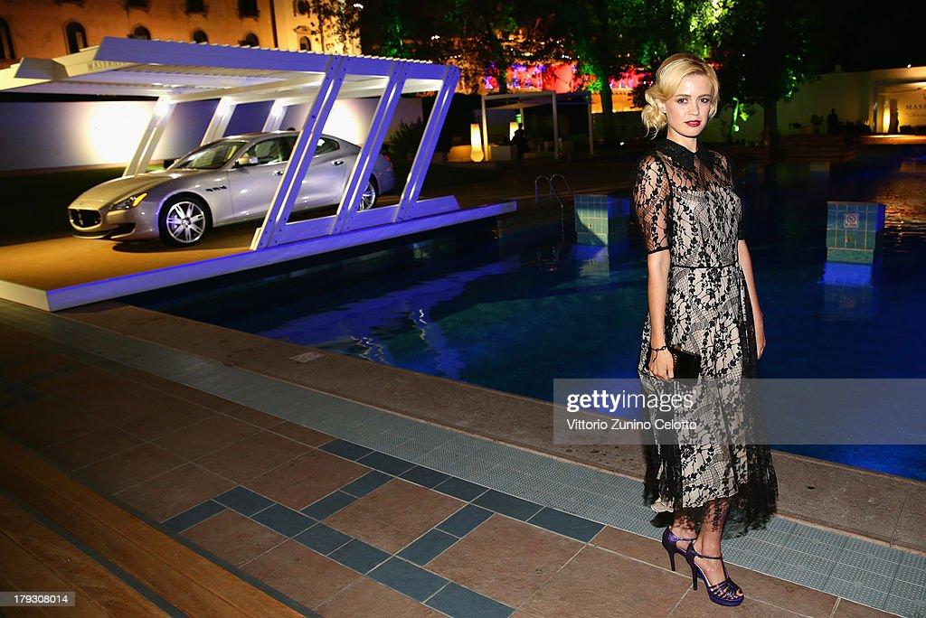Nathalie Rapti Gomez attends Premio Kineo Ceremony during the 70th Venice International Film Festival at Terrazza Maserati on September 1, 2013 in Venice, Italy.