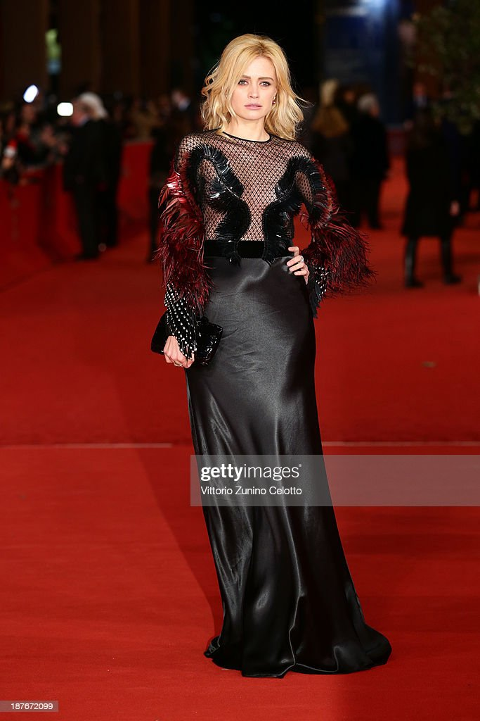 Nathalie Rapti Gomez attends 'Romeo And Juliet' Premiere during The 8th Rome Film Festival at Auditorium Parco Della Musica on November 11, 2013 in Rome, Italy.