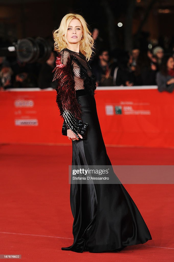 Nathalie Rapti Gomez attends 'Romeo And Juliet' Premiere during The 8th Rome Film Festival on November 11, 2013 in Rome, Italy.