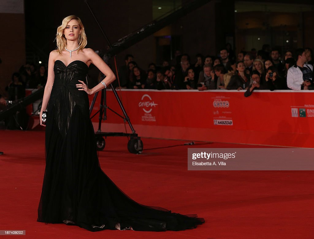 Nathalie Rapti Gomez attends the Opening Ceremony and 'L'Ultima Ruota Del Carro' Premiere during The 8th Rome Film Festival on November 8 2013 in...