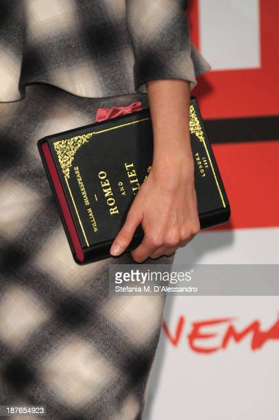 Nathalie Rapti Gomez attends the 'Romeo Juliet' Photocall during the 8th Rome Film Festival at the Auditorium Parco Della Musica on November 11 2013...