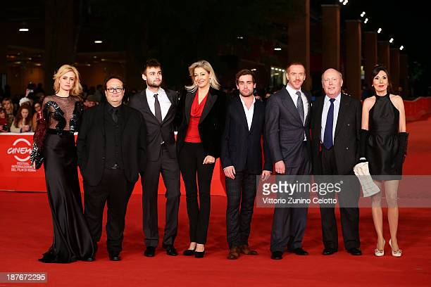 Nathalie Rapti Gomez Carlo Carlei Douglas Booth Nadja Swarovski Christian Cooke Damian Lewis Julian Fellowes and Simona Caparrini attends 'Romeo And...
