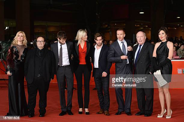 Nathalie Rapti Gomez Carlo Carlei Douglas Booth Nadja Swarovski Christian Cooke Damian Lewis Julian Fellowes and Simona Caparrini attend 'Romeo And...
