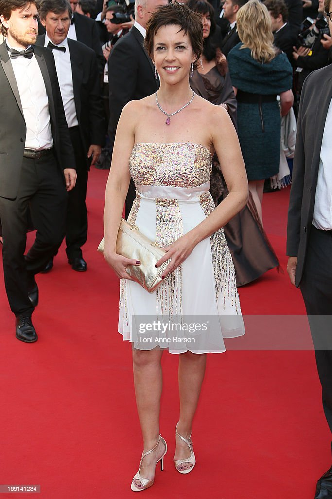 Nathalie Renoux attends the Premiere of 'Blood Ties' during the 66th Annual Cannes Film Festival at the Palais des Festivals on May 20, 2013 in Cannes, France.