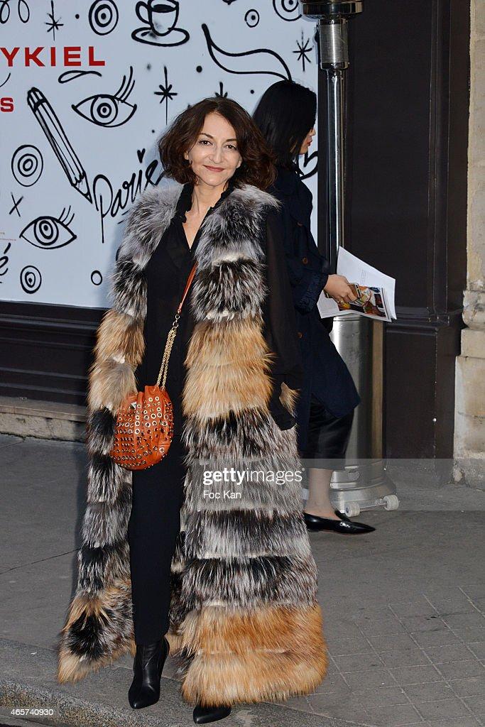 Sonia Rykiel : Outside Arrivals - Paris Fashion Week Womenswear Fall/Winter 2015/2016