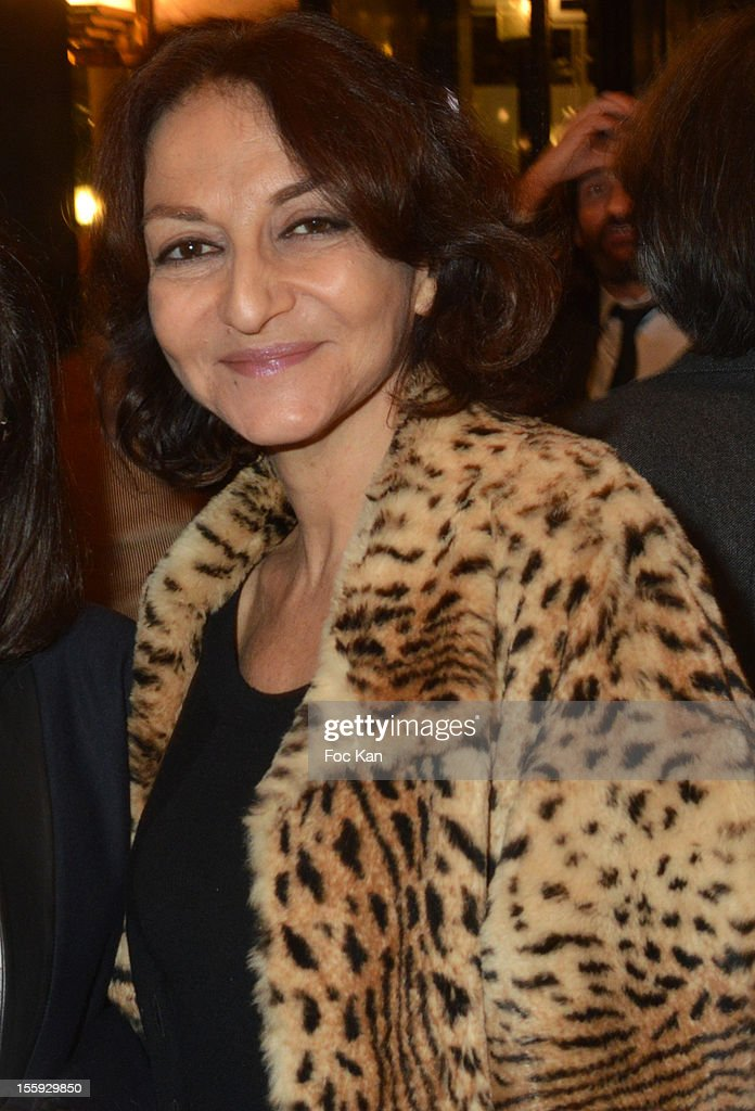 Nathalie Rykiel attends the 'Prix De Flore 2012' - Literary Award Ceremony Party at the Cafe de Flore on November 8, 2012 in Paris, France.