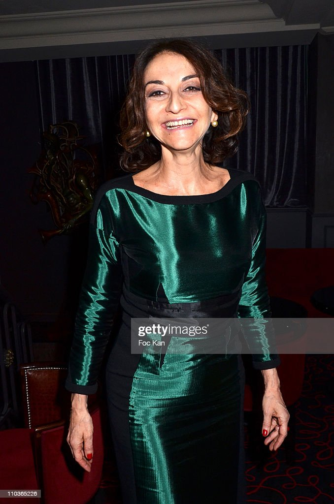 Nathalie Rykiel attends the Sonia Rykiel After Party at Castel Club on on March 5, 2011 in Paris, France.