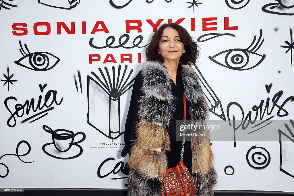 Sonia Rykiel : Front Row - Paris Fashion Week Womenswear Fall/Winter 2015/2016