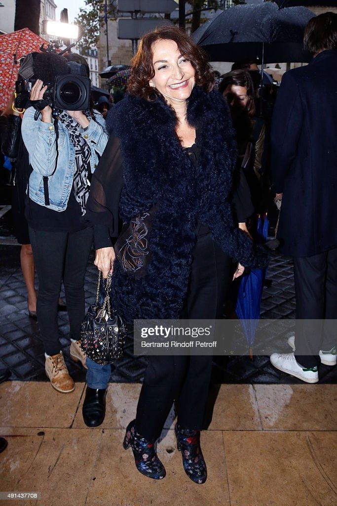 Sonia Rykiel : Outside Arrivals - Paris Fashion Week Womenswear Spring/Summer 2016
