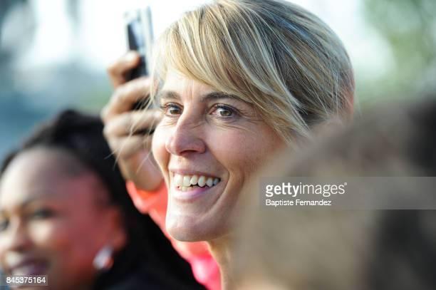 Nathalie Simon during La Parisienne women's race on September 10 2017 in Paris France
