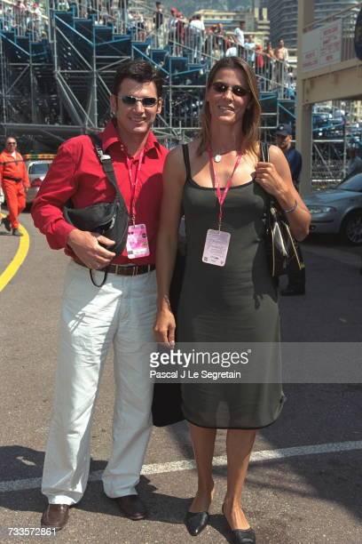 Nathalie Simon with her husband