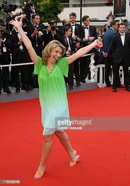 Nathalie Vincent during 2006 Cannes Film Festival 'The Wind That Shakes The Barley' Premiere at Palais Du Festival in Cannes France