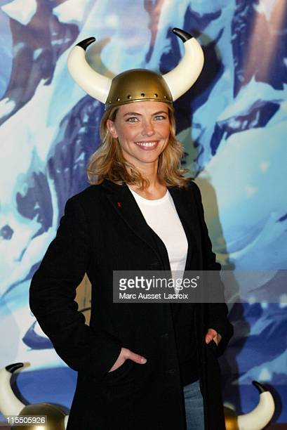Nathalie Vincent during 'Asterix et les Vikings' Paris Premiere Arrivals at Rex Theater in Paris France