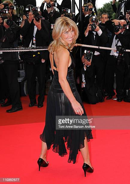 Nathalie Vincent ttends the 'Un Conte de Noel' premiere at the Palais des Festivals during the 61st Cannes International Film Festival on May 16 2008...
