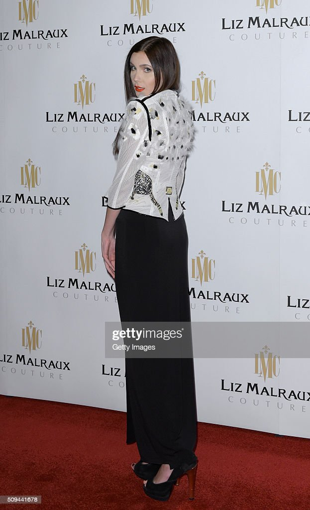 Nathalie Volk attends Liz Malraux Fashion Show at Hotel Atlantic on February 10, 2016 in Hamburg, Germany.