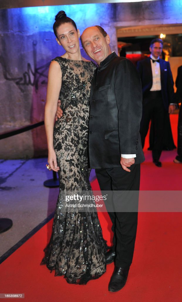 Nathalie von Bismarck and Carl-Eduard von Bismarck attends the Hadassah Dinner And Dance Charity Gala at the Kesselhaus on October 19, 2013 in Munich, Germany.
