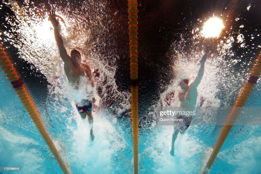 Swimming - 15th FINA World Championships: Day Thirteen