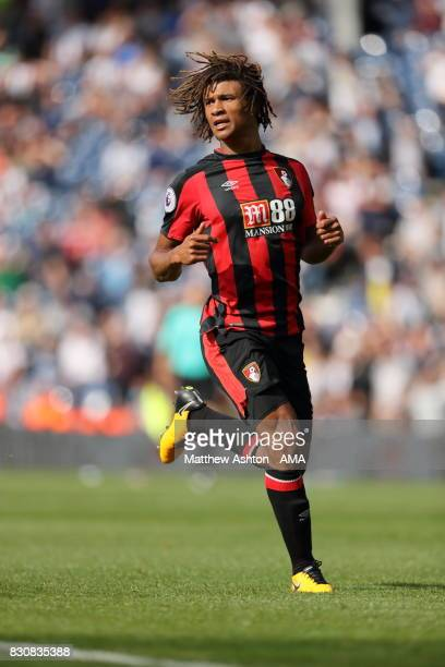 Nathan Ake of AFC Bournemouth during the Premier League match between West Bromwich Albion and AFC Bournemouth at The Hawthorns on August 12 2017 in...