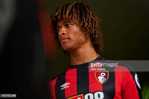 Nathan Ake of AFC Bournemouth looks on during a Pre Season Friendly match between AFC Bournemouth and Estoril Praia at the Marbella Football Center...